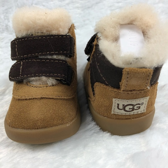 af1da50f9ca UGG Pritchard Shearling Lined Bootie baby shoes NWT